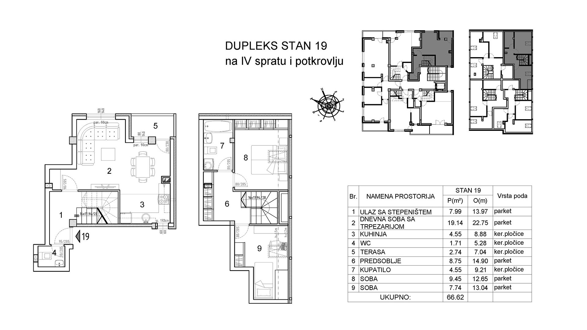 Objekat u Vranjanskoj 2 - stan 19