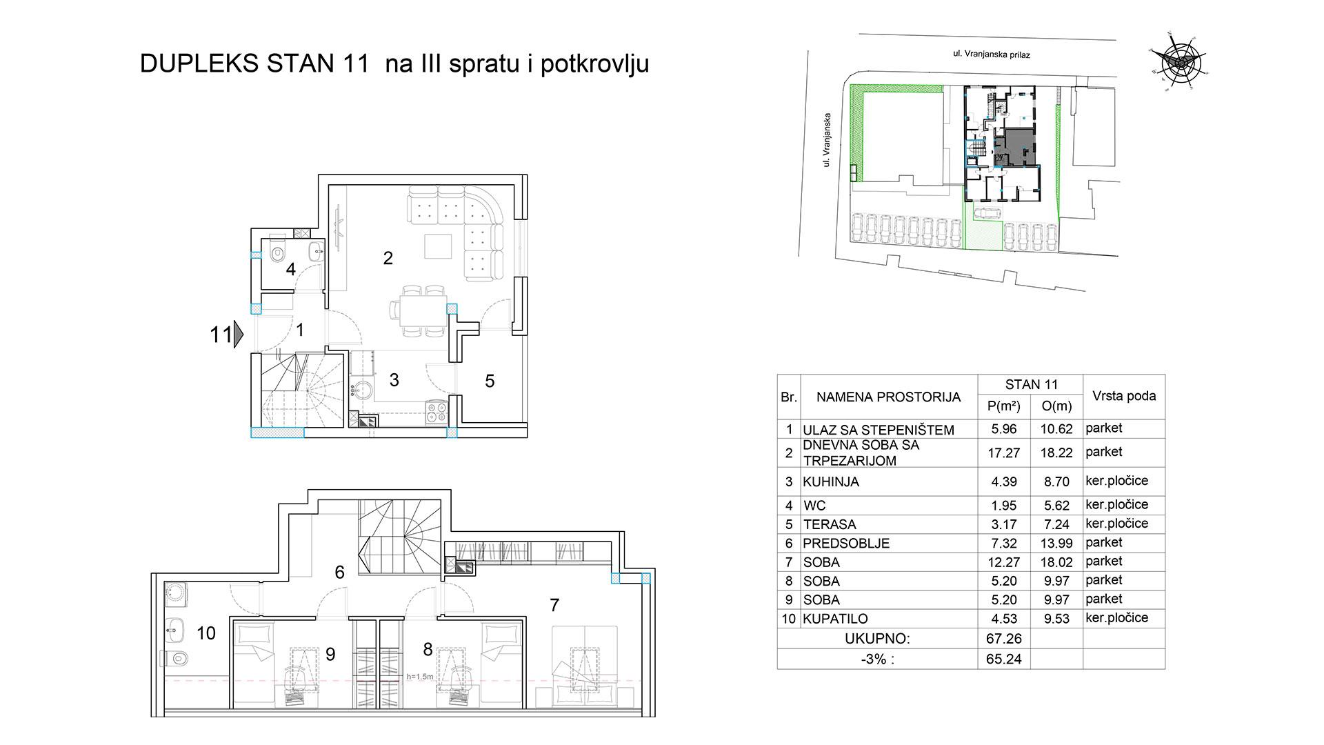 Objekat u Vranjanskoj 2A - stan 11