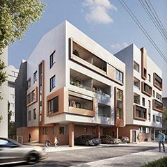 Prodaja stanova Niš - Objekat u Vranjanskoj 2A