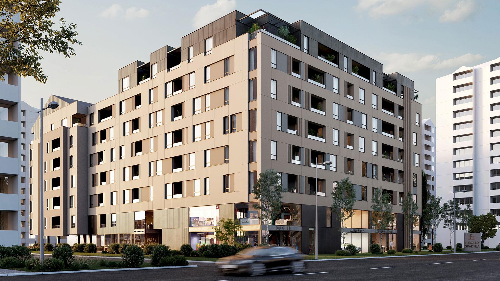 Prodaja stanova Niš - Objekat u Bulevar Nemanjića bb 4