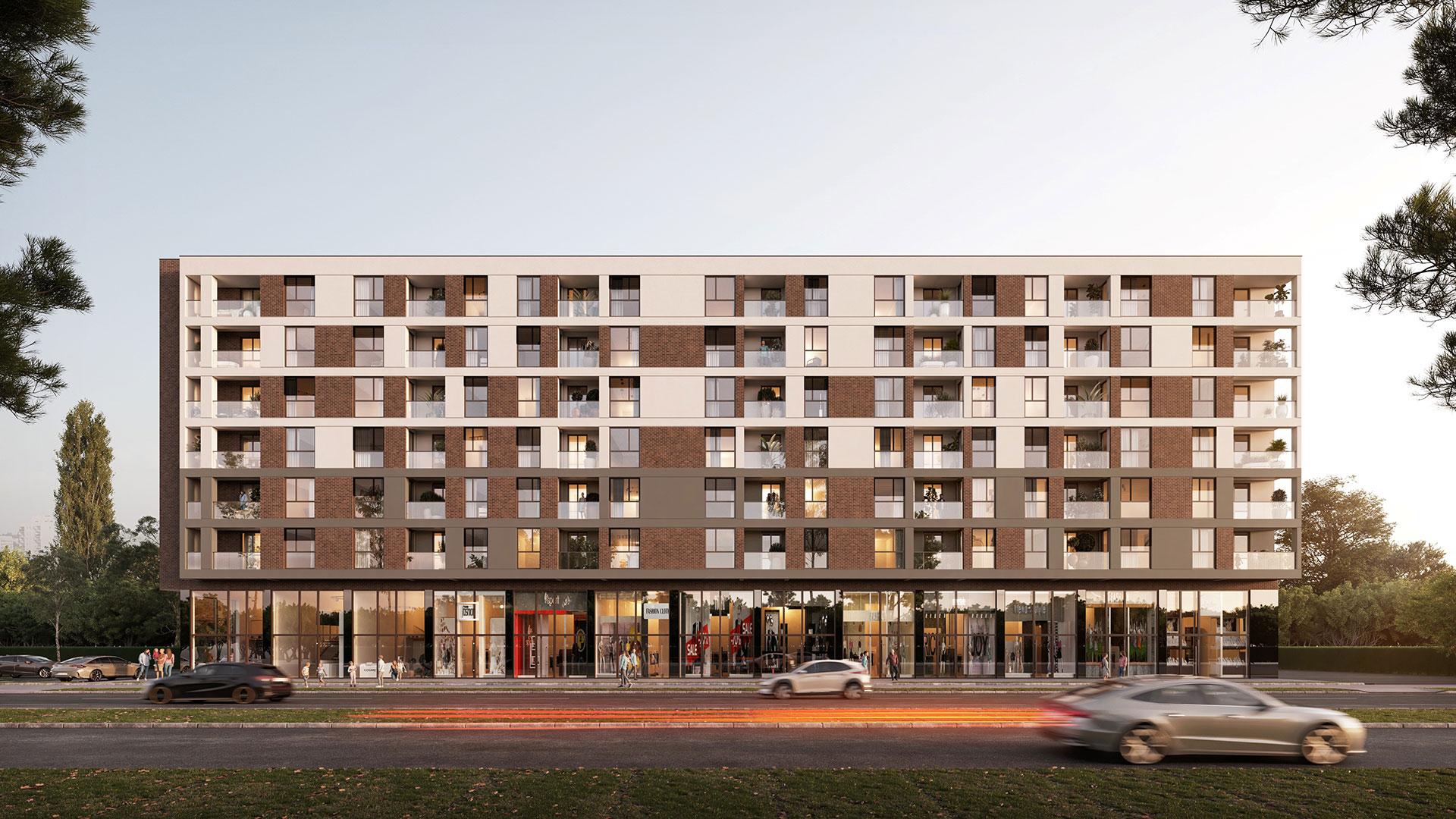 Prodaja stanova Niš - Objekat u Somborskoj bb 1